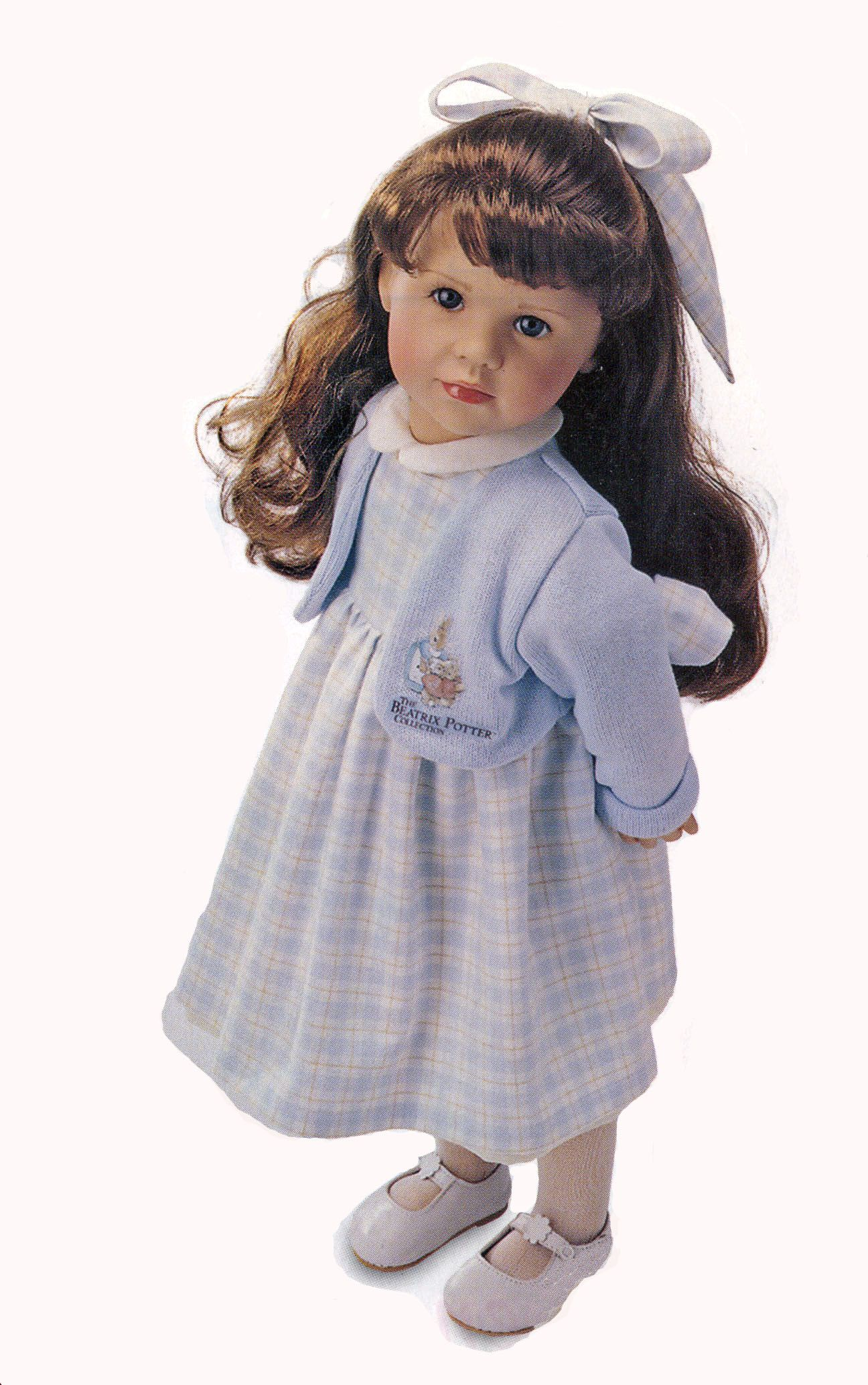 Brooke, from the Beatrix Potter Collection, by Gotz dolls. 23 inches.