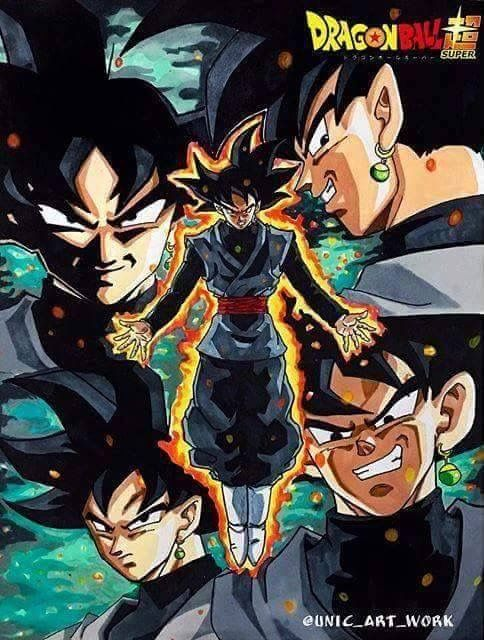 Black Goku... Can't wait to see the Super Saga in the States