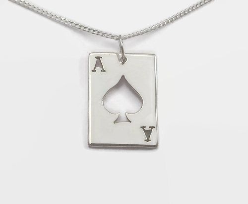 Ace of Spades Bag Charm | Purse charms diy, Bag charm