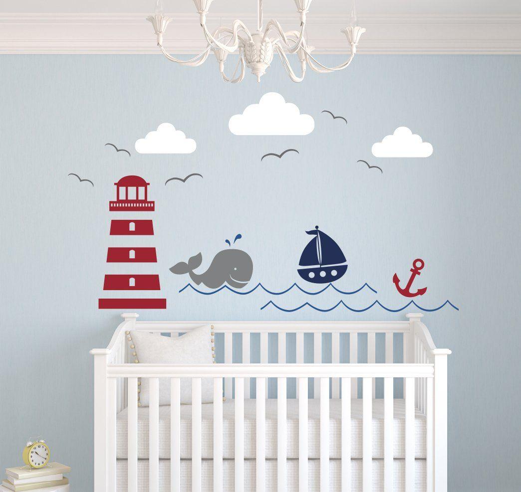 Baby Nash S Vintage Nautical Nursery: Nautical Theme Wall Decal