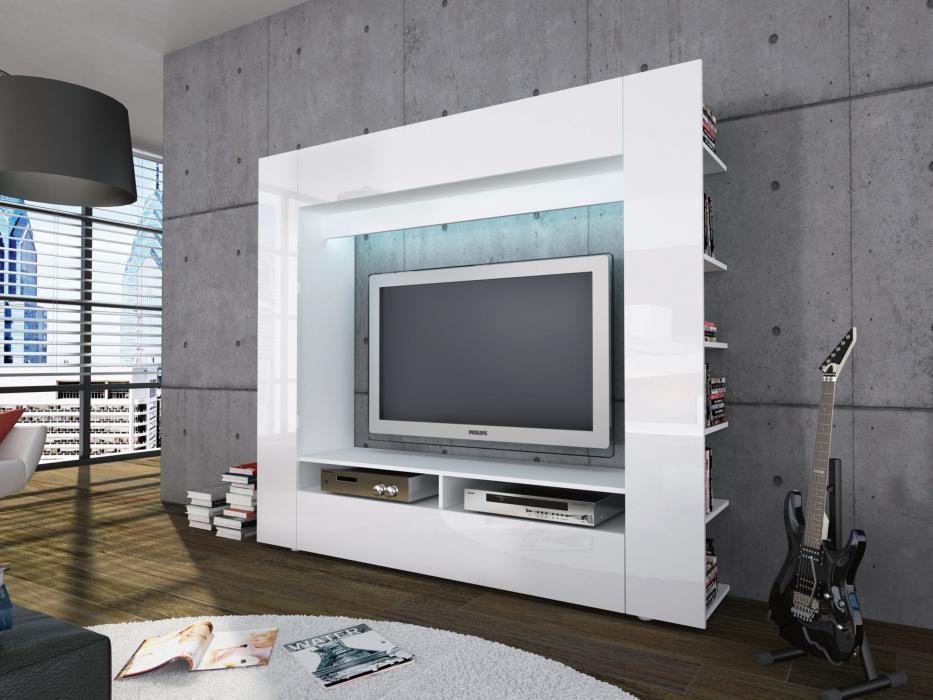 OLLI TV-Bänk Vit i gruppen Inomhus   Förvaring   Tv-bänkar hos - joop möbel wohnzimmer