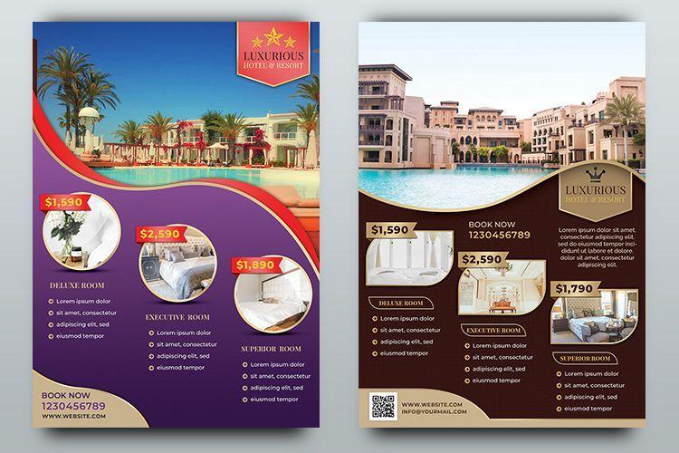 Hotel Flyer Templates Flyer Flyer Template Flyer Design Layout