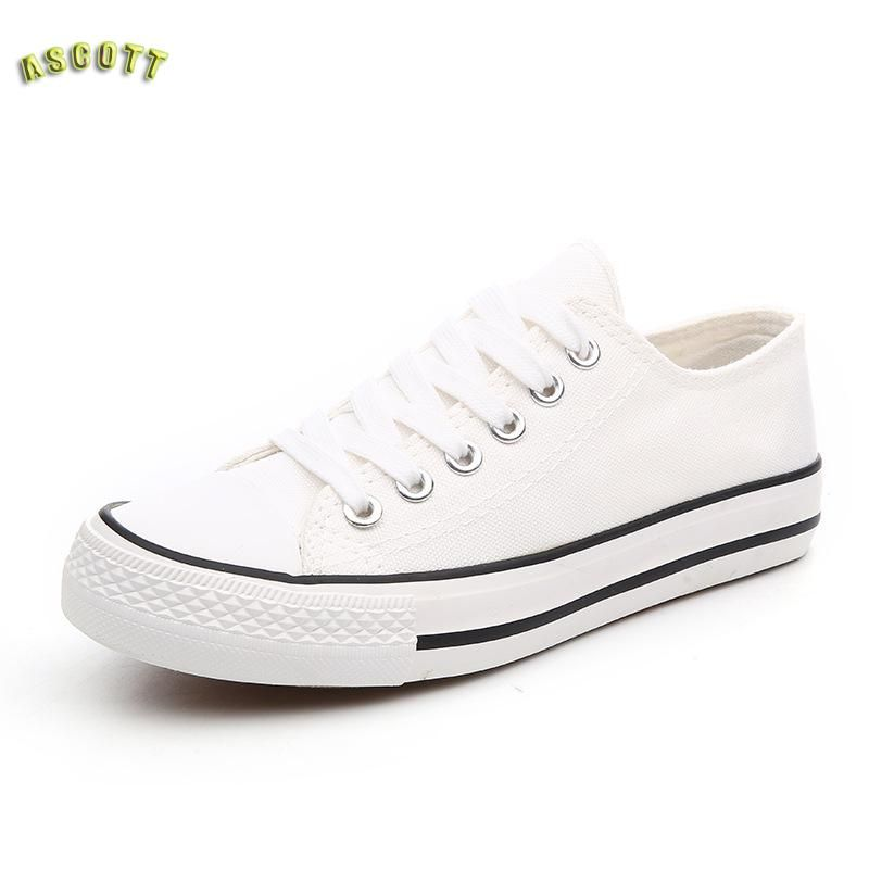 Nice Spring Breathable Pure Color Low Heels Fashion Canvas Shoes Women Lace-Up Flat Shoes Students Casual Shoes Zapatos Mujer cheap 100% authentic huge surprise for sale cheap online fast delivery online good selling nIHrNu
