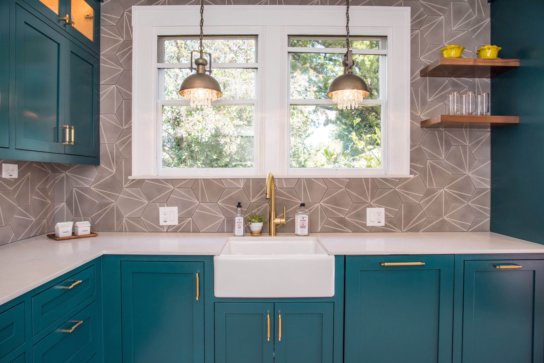 Inspired Spaces Inc Kitchen Remodel Santa Rosa Ca Teal Kitchen Cabinets Teal Kitchen Walls Teal Kitchen