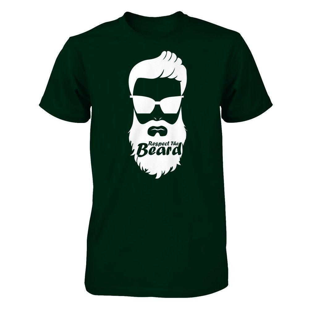 Respect The Beard - Shirts