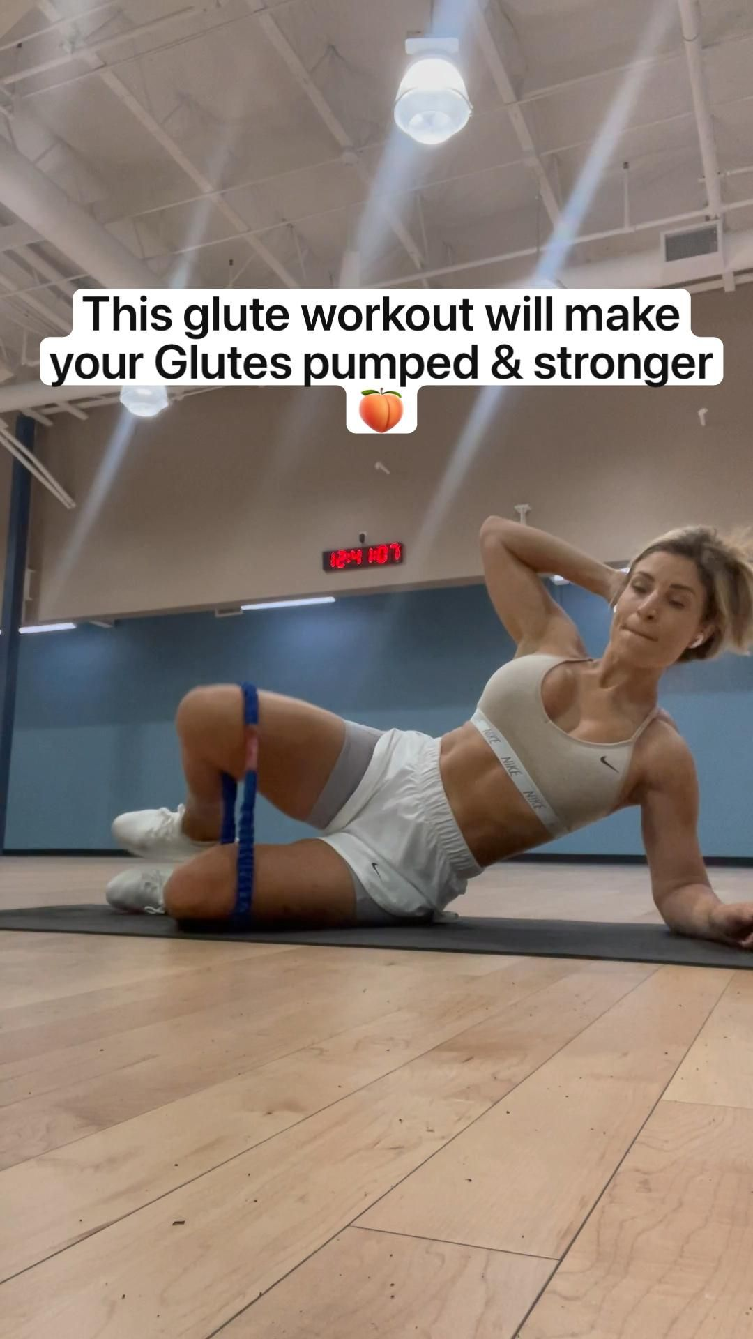 This glute workout will make your Glutes pumped & stronger 🍑