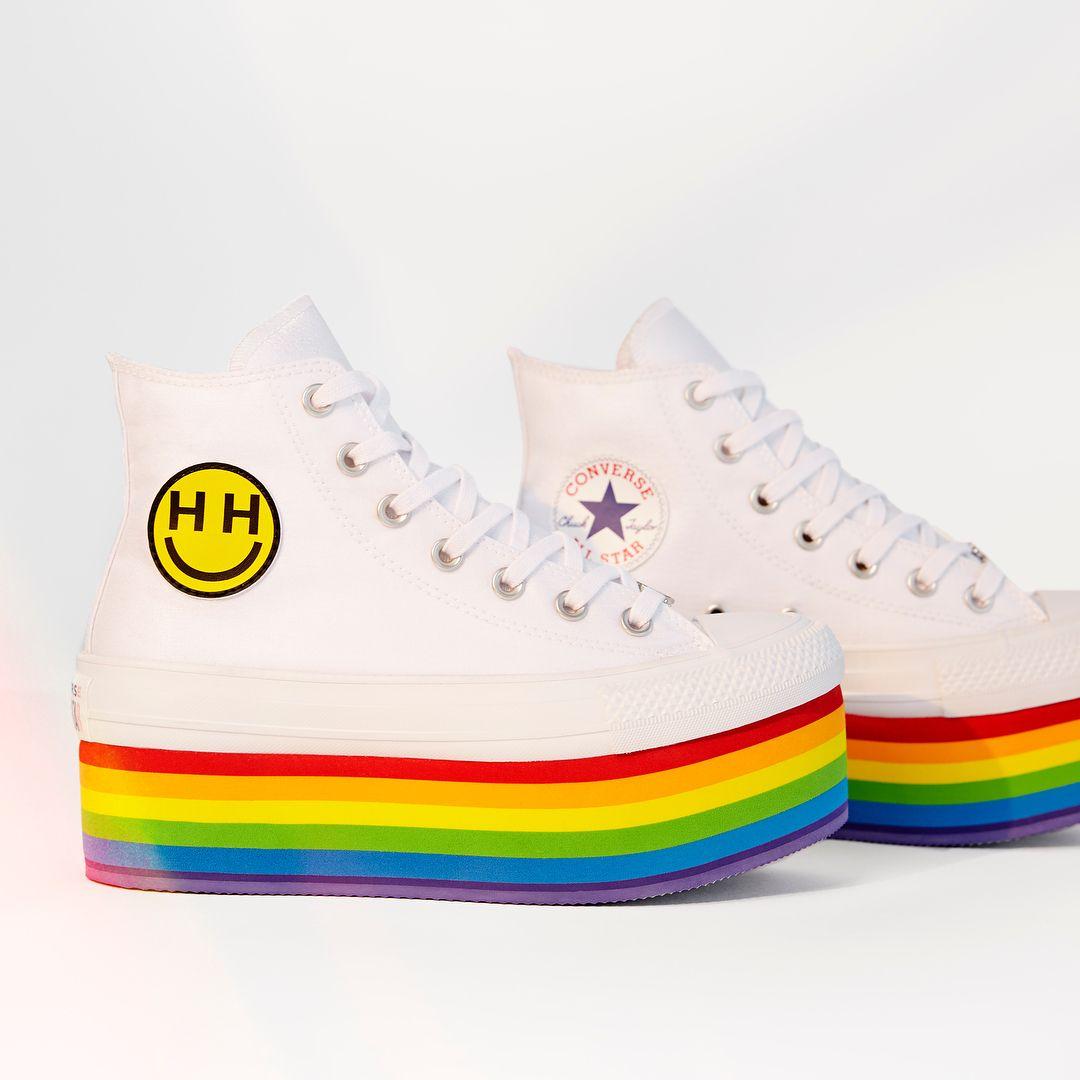 Shop the #ConversePride collection now.