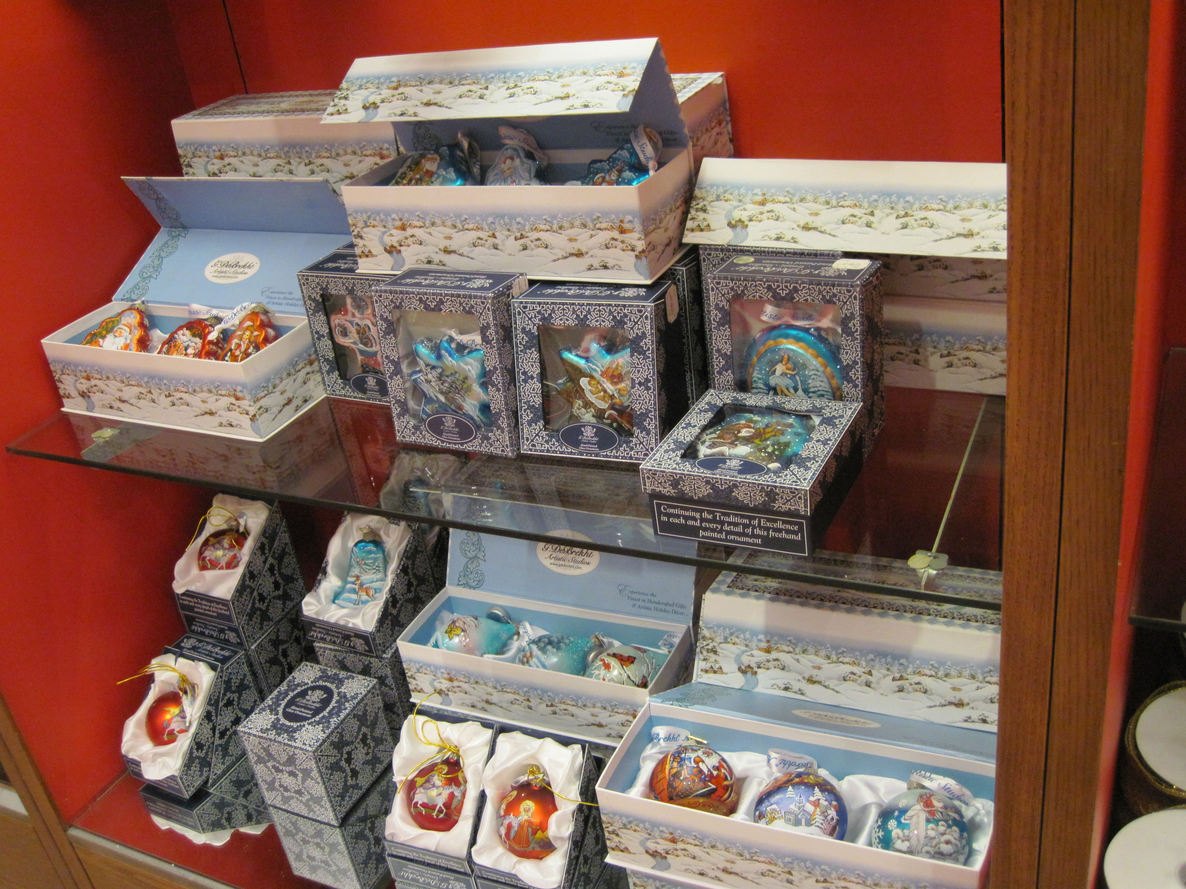 Hand Painted Handmade Glass Christmas Ornaments Make Great Gifts Store  Shelves Are Stocked With G