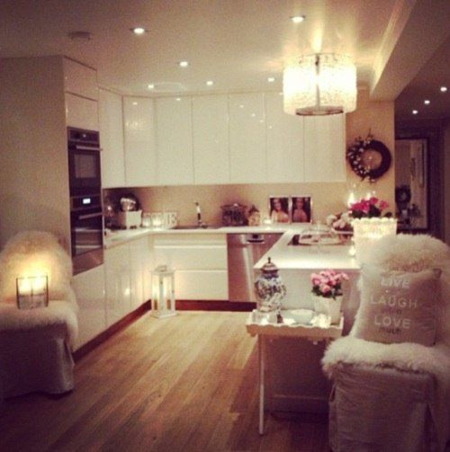 Best 25 open plan ideas on pinterest open plan living open plan kitchen living room and - Cosy home deko ...
