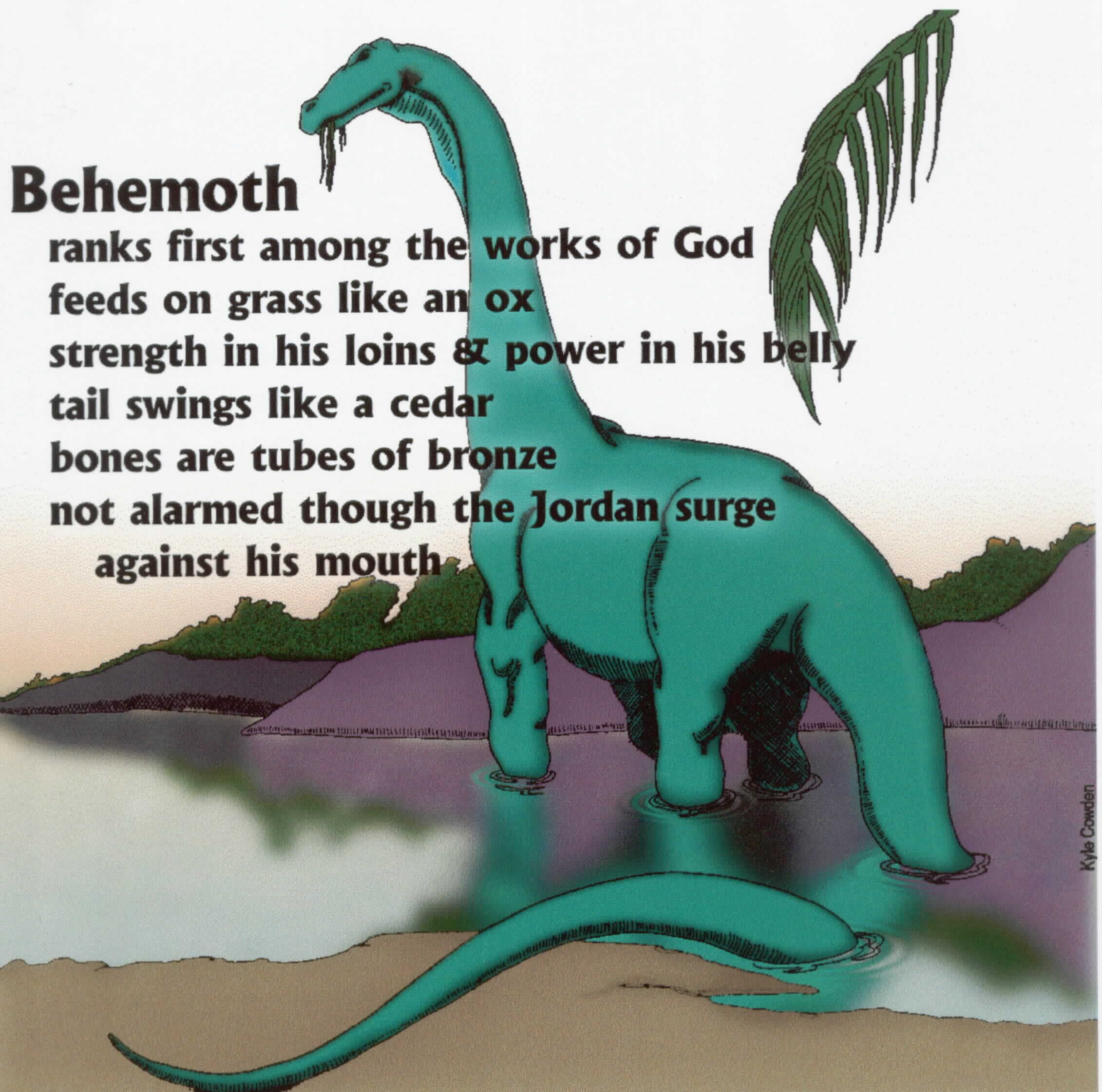 Why does the bible not mention dinosaurs?