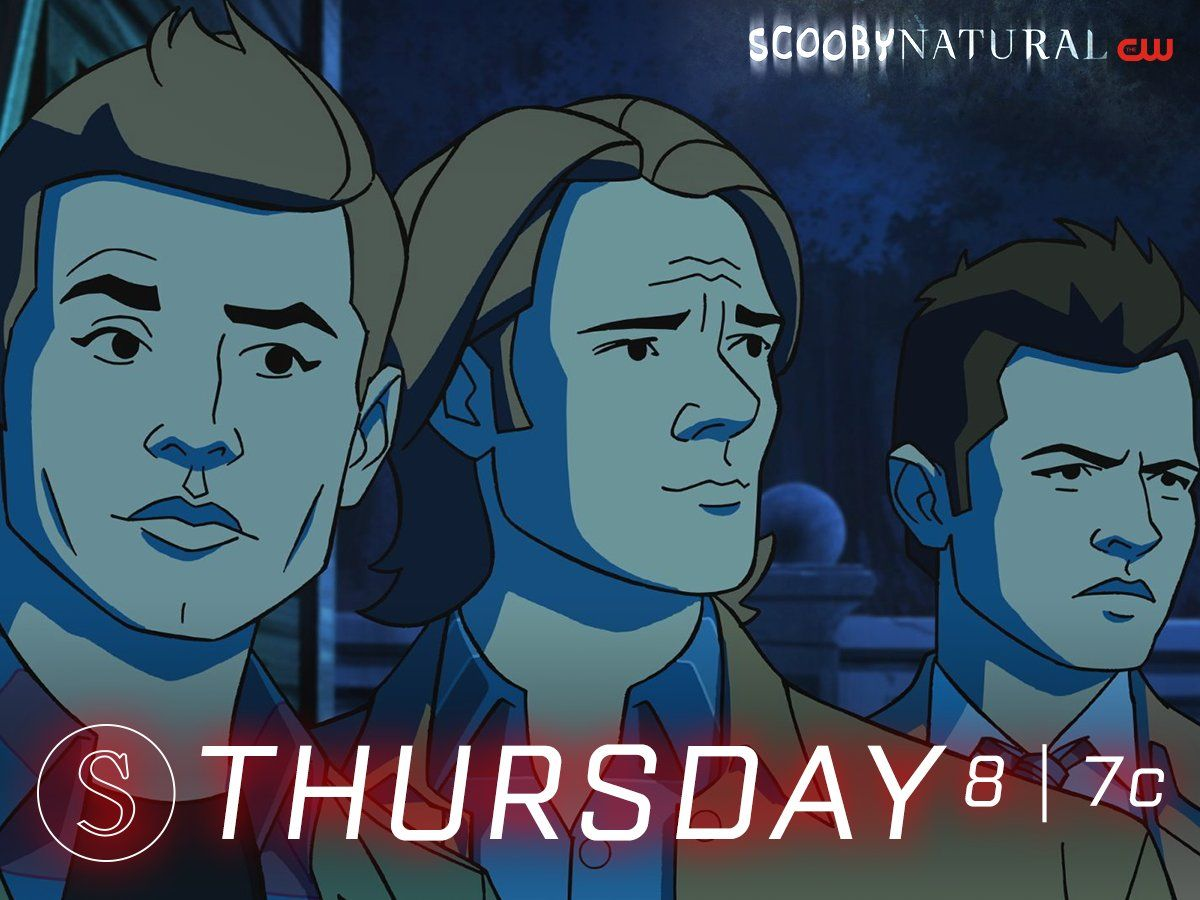 The boys get animated in Scoobynatural Thursday at 8/7c on