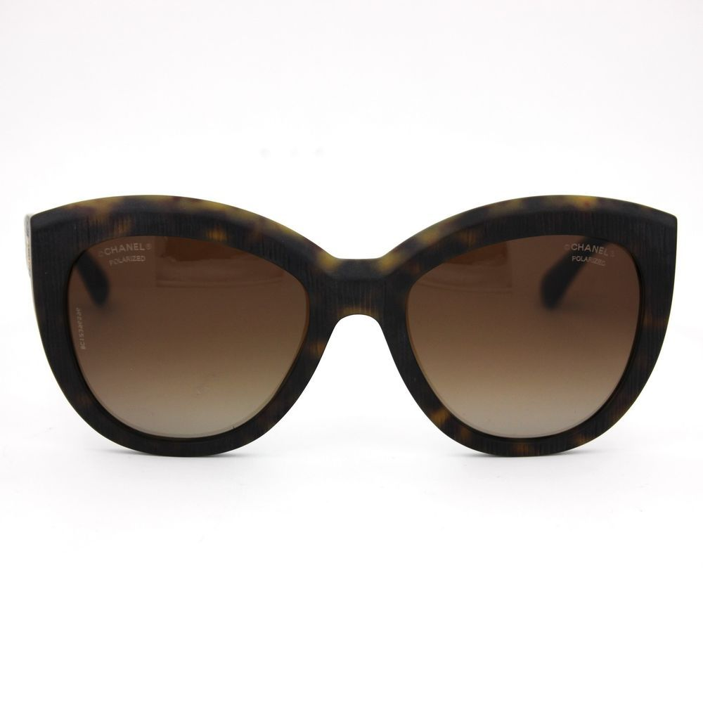 2dcd0881999 CHANEL Butterfly Sunglasses Dark Tortoise Frame with Brown Polarized Lenses  5332  CHANEL  Butterfly