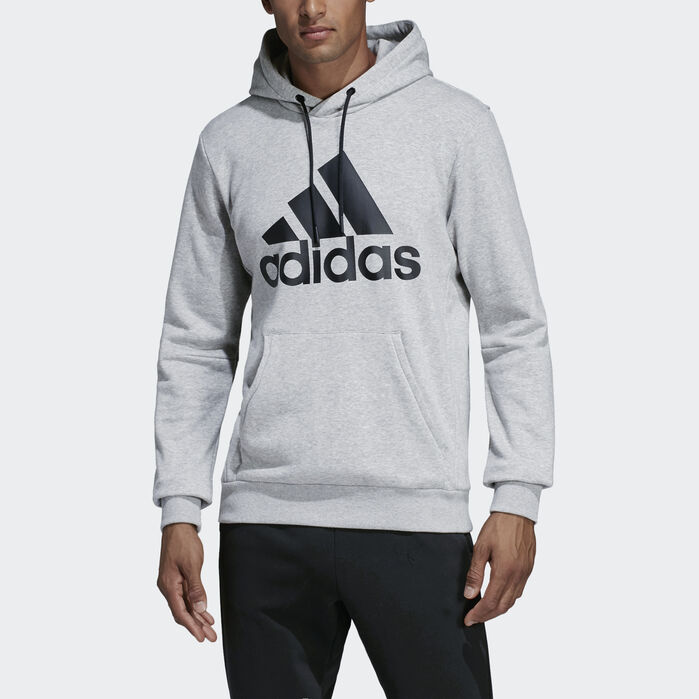 Adidas originals hoodie grau meliert sport herren