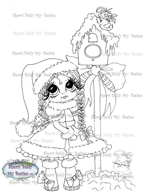 Sherri Baldy rubber stamps - Click on her name and picture in the upper lefthand corner and you can see all of her rubber stamp images in color.