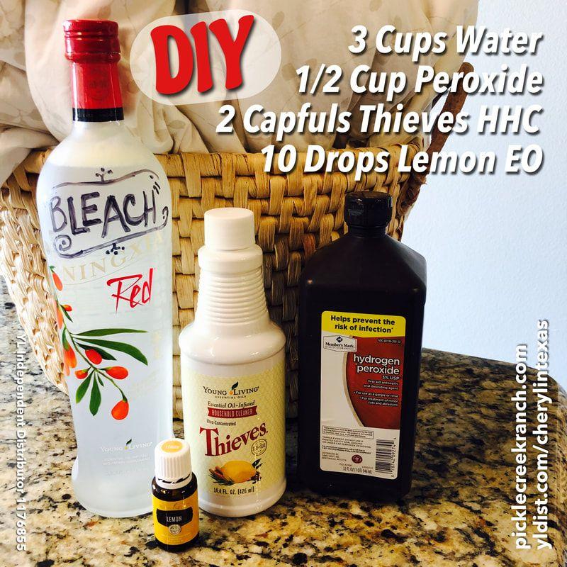 Diy Bleach It S Easy Essential Oils Cleaning