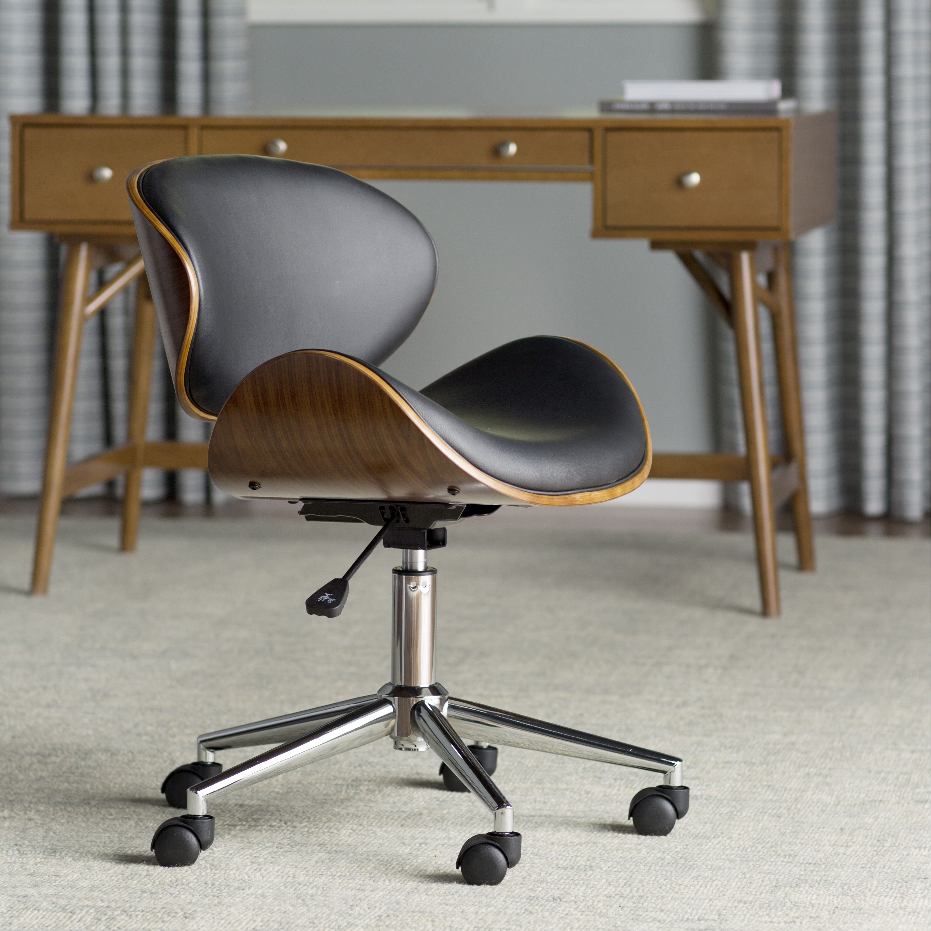 Olmstead Mid Back Desk Chair by Langley Street £119 99
