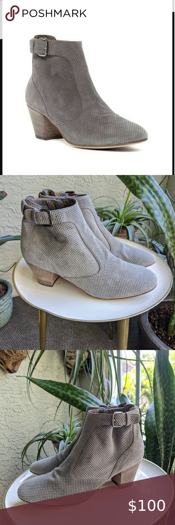 COPY New Aquatalia 10 Gray France Ankle Boot Sue