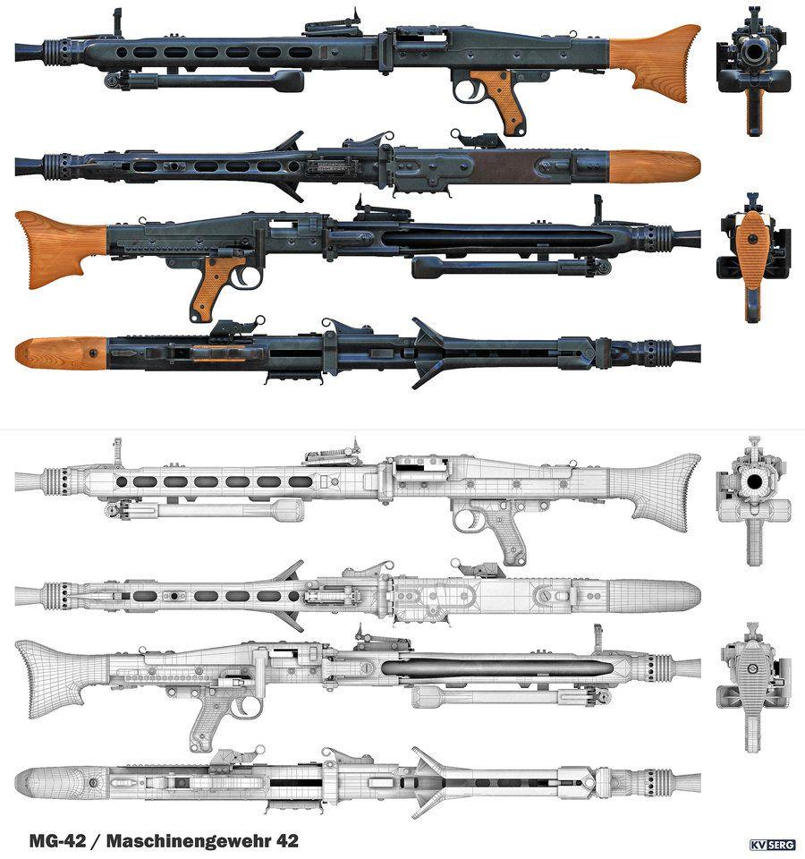 Mg 42 Maschinengewehr By Kvserg D5kmiq4 900x960
