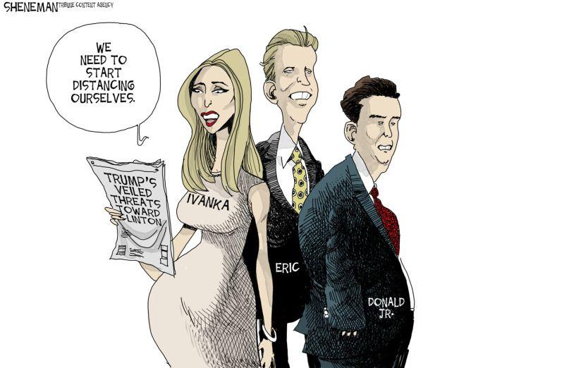 Cartoons | 2016 Election | Pinterest | Political cartoons ...