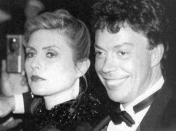 Debbie and Tim Curry
