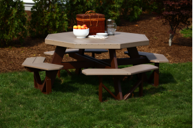 Tables :: Octagon Table Free Shipping - Products | Yoder Woodcrafters