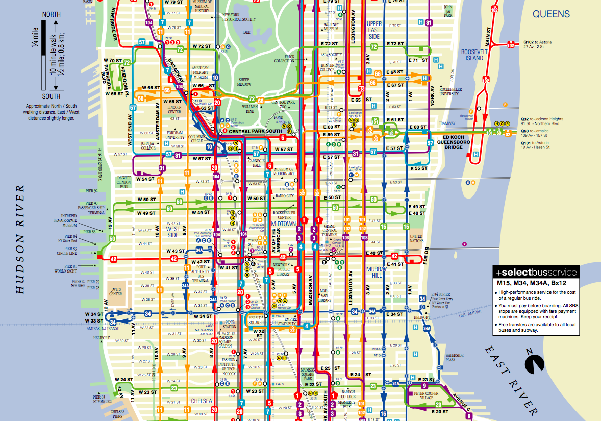 manhattan bus map seattle metro transit system author datepresent
