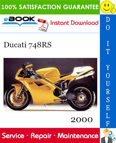 2000 Ducati 748rs Motorcycle Service Repair Manual In 2020 Repair Manuals Ducati Repair