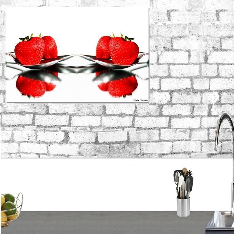 Vice versa Cette création d\u0027un rouge vif réveillera votre cuisine - Photo Cuisine Rouge Et Grise