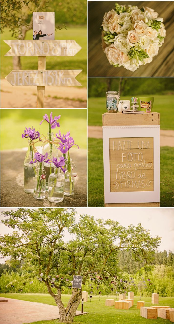 Ana y Roberto - A Country Destination Wedding in Spain | OneWed