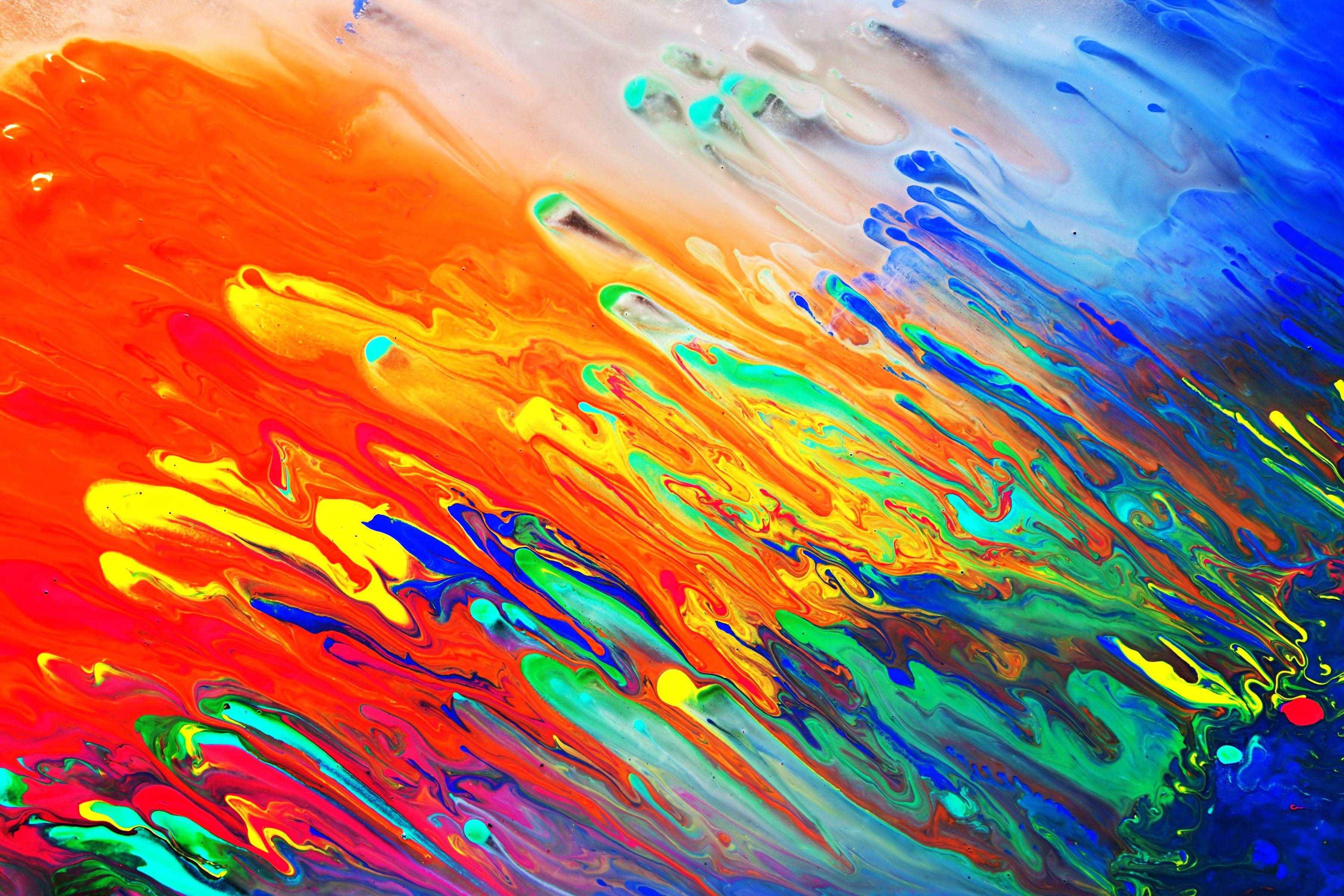 Abstract, Art, Mixed, Media, Grunge, Stock, Photo, Painting
