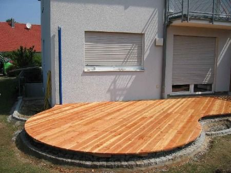 runde terrasse garten pinterest terrasse runde und. Black Bedroom Furniture Sets. Home Design Ideas