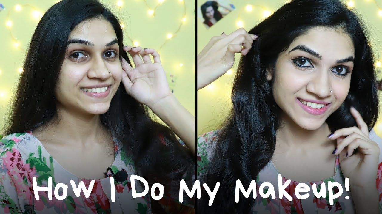 How I Do Makeup Without Foundation Mayuri Pandey How