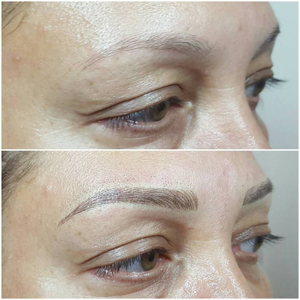 Microblading before and after . Book your appointment for