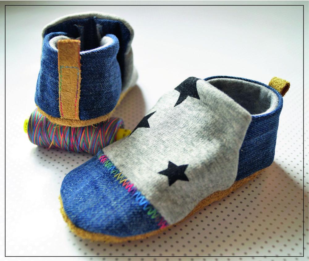 Foto zu Schnittmuster Babyschuh Stoffi von Sarona Homemade ...