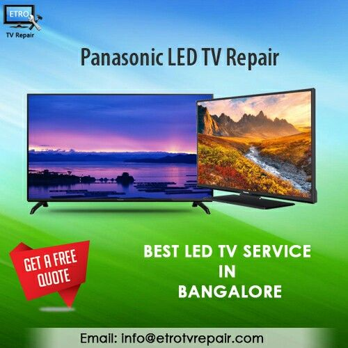 Panasonic Led Tv Repair Best Led Tv Service In Bangalore Get A