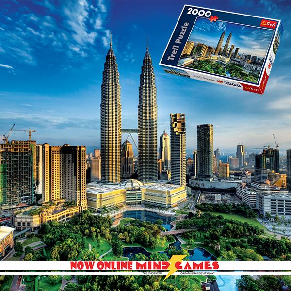 Petronas Twin Towers 2000-Piece Jigsaw Now Online The