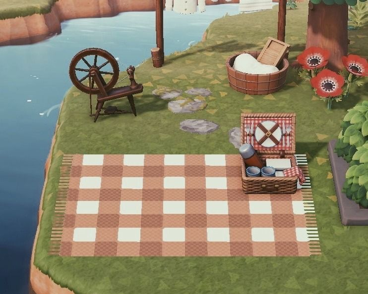 Red Kitchen Island Animal Crossing New Horizons - Kitchen ... on Kitchen Items Animal Crossing  id=88817