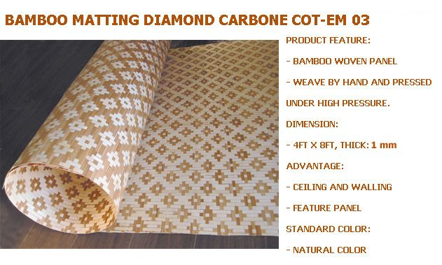 Quality Bamboo And Asian Thatch: U0027u0027Bamboou0027u0027 Panels For Walls/Ceilings  Covering Decor Paneling(