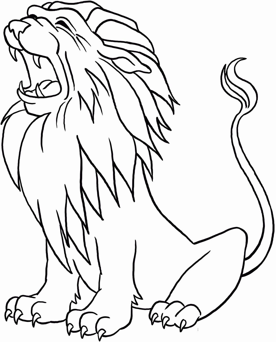 Coloring Picture Of A Lion In 2020 Lion Coloring Pages Animal