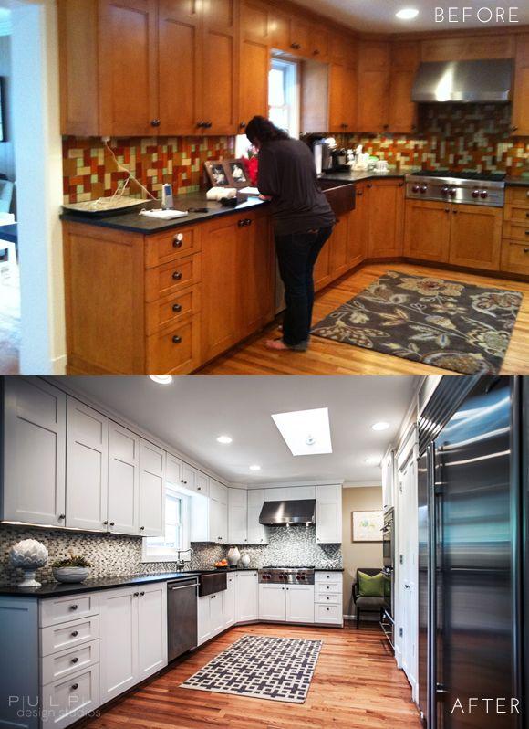 Before & After: Elegant-Mod Kitchen Renovation
