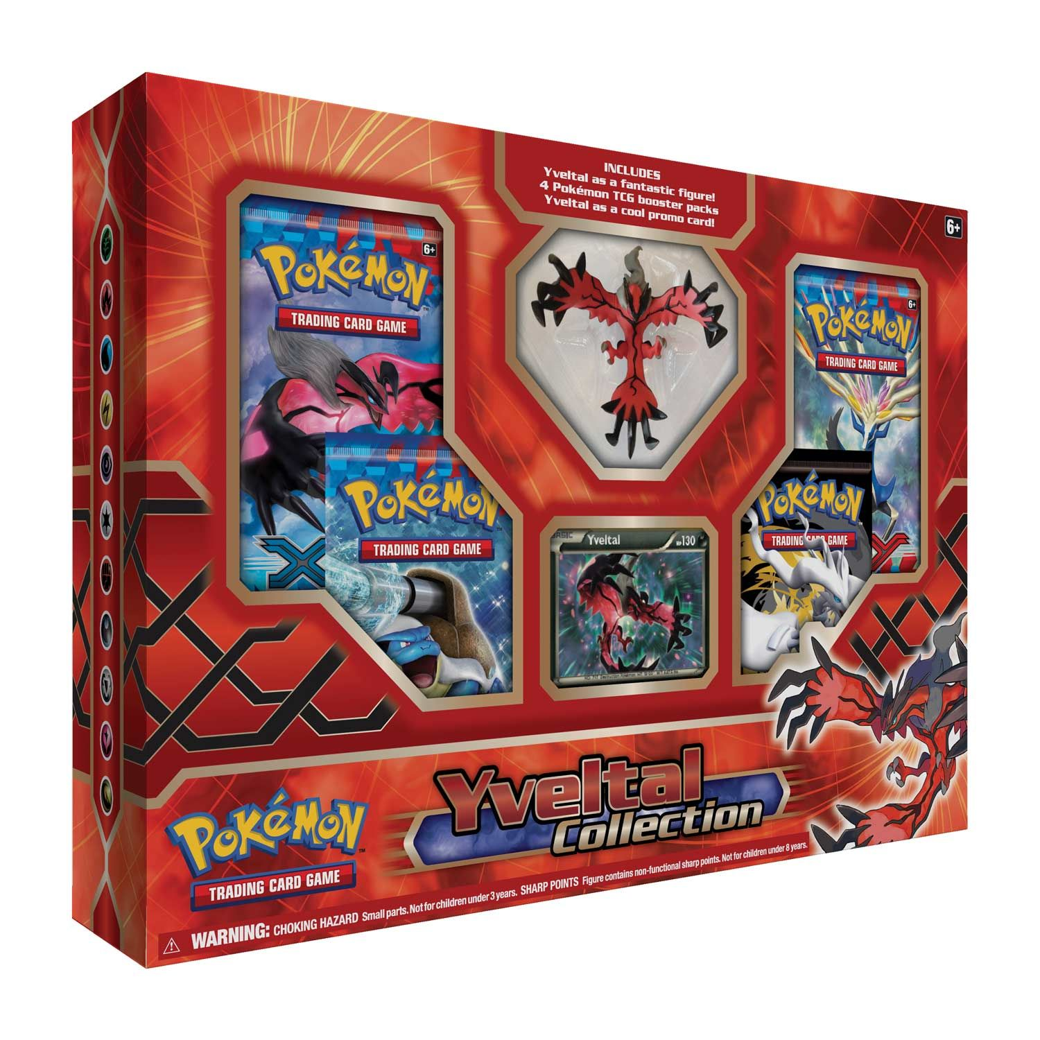 Roller skates tcg - Pok Mon Tcg Yveltal Collection Contains The Destruction Pok Mon Yveltal As A Fantastic Figure And As