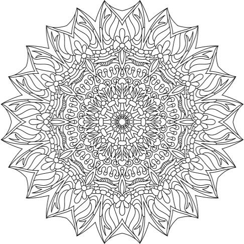 The Best Mandala Coloring Books for Adults | Ausmalbilder für ...