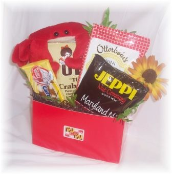 Maryland Theme Snack Gift Basket | Gettin' hitched on August 10 ...
