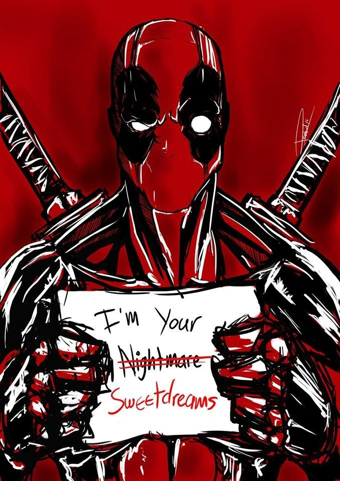 Deadpool Fan Art By Prashad Ganesan THE 5 STAR AWARD OF AW YEAH ITS MAJOR AWESOMENESSTMTHANK U 4 PINNING