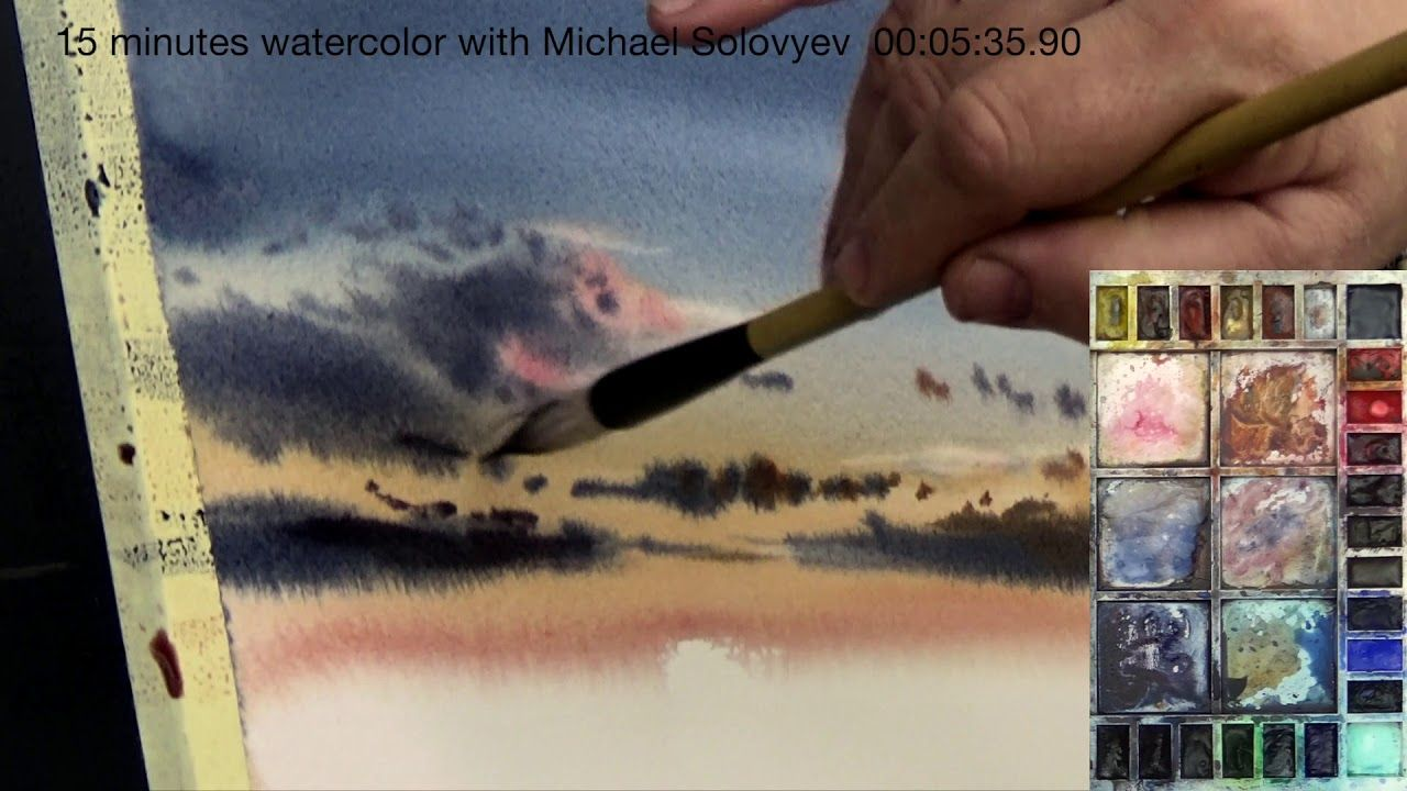 60 Road to Montreal in 2020 Watercolour tutorials