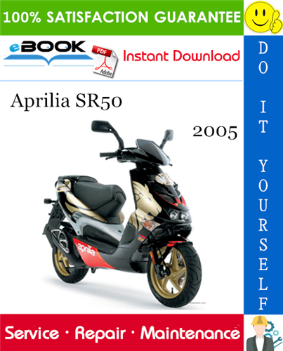 2005 Aprilia Sr50 Motorcycle Service Repair Manual Repair Manuals Aprilia Repair