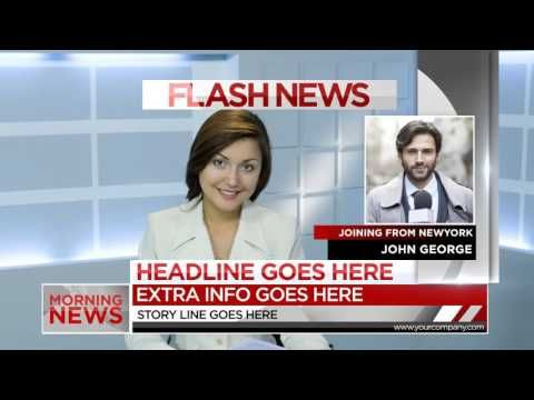 Morning News Package | After Effects template