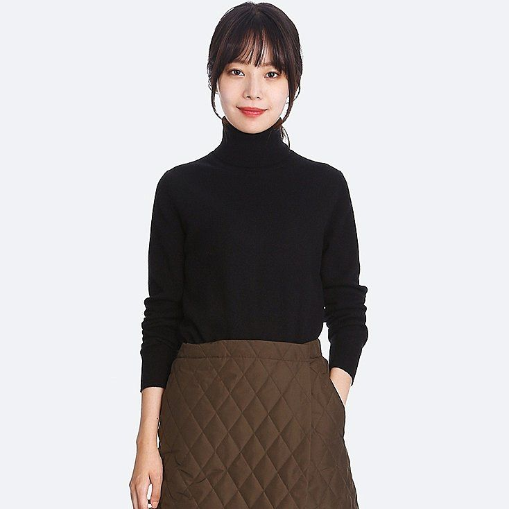 Women cashmere turtleneck sweater | Cashmere turtleneck ...