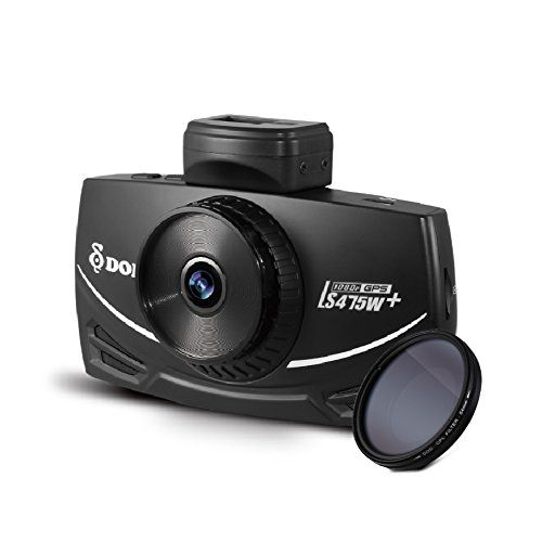 DOD LS475W+, 3″ Display CPL Filter Full 1080P@60FPS Dash Cam