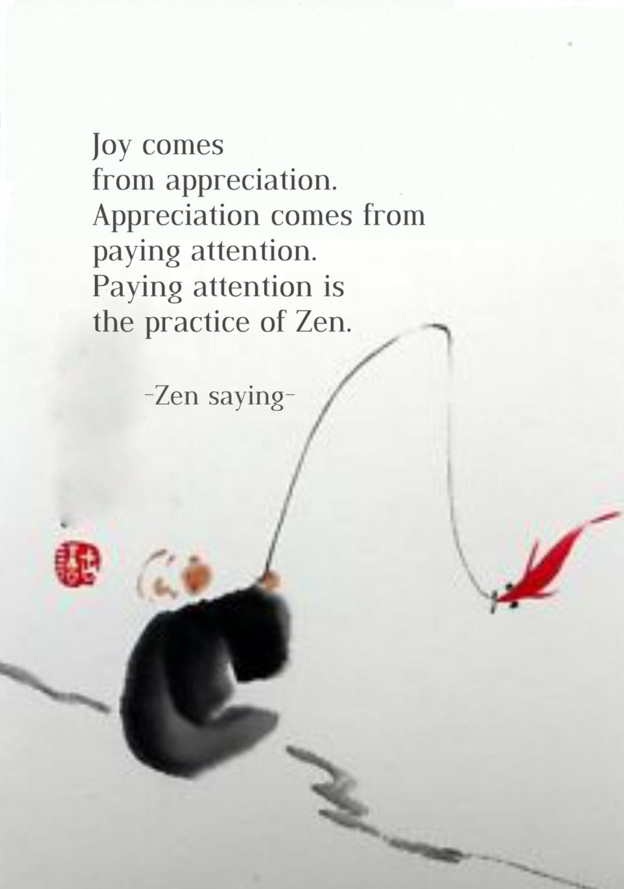 Image result for image zen quotes mindfulness paying attention